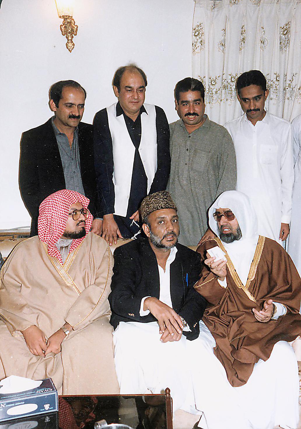 الشيخ علي جابر في زيارة لباكستان 4