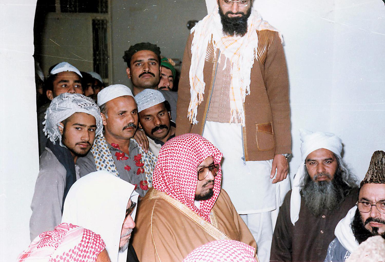 الشيخ علي جابر في زيارة لباكستان