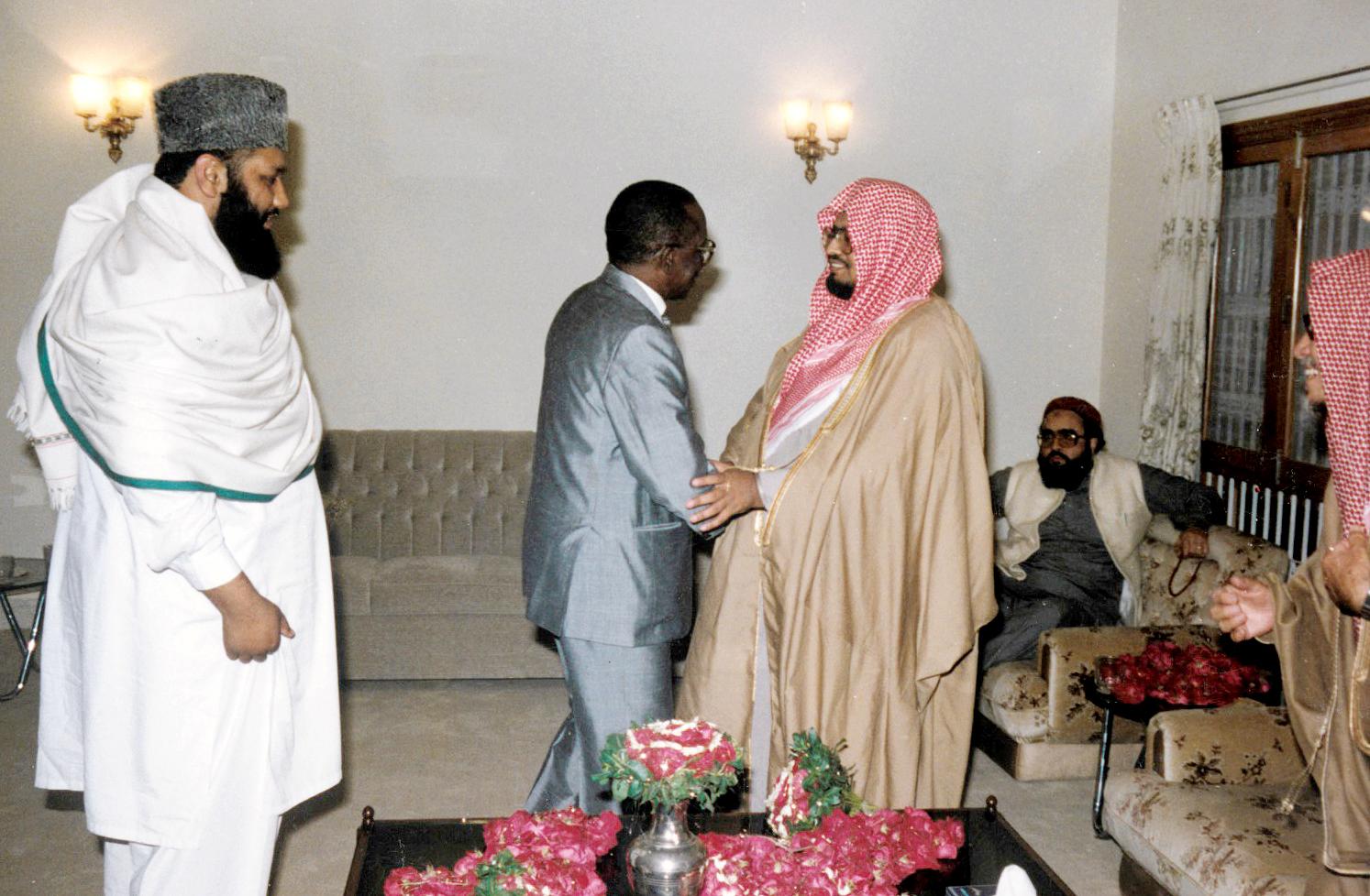 الشيخ علي جابر في زيارة لباكستان 2