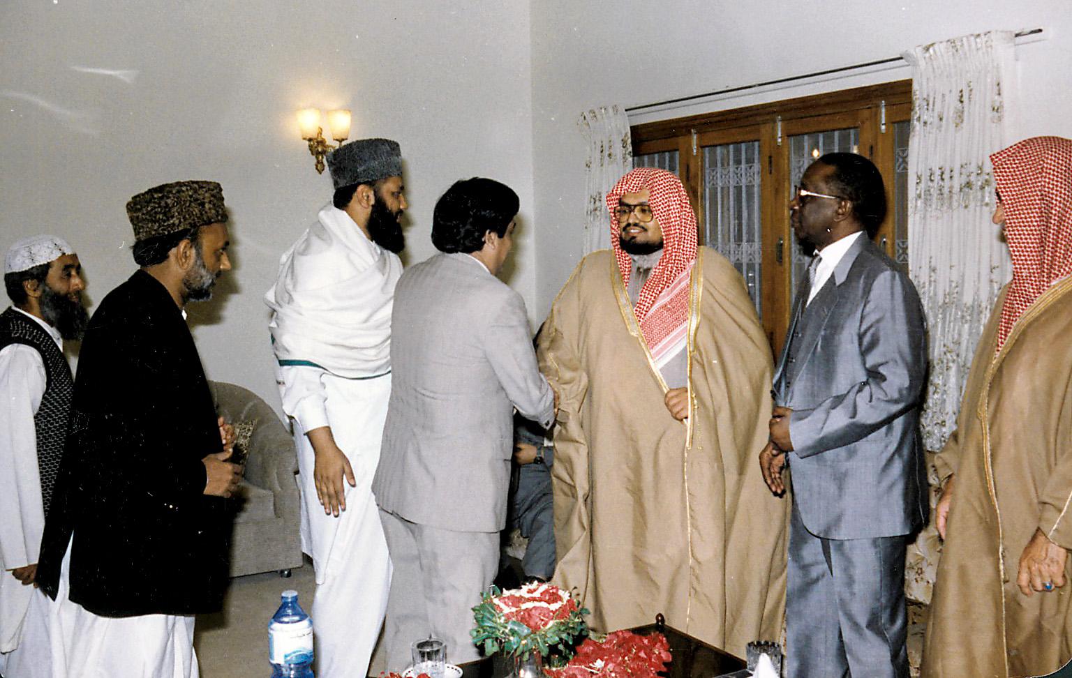 الشيخ علي جابر في زيارة لباكستان 3